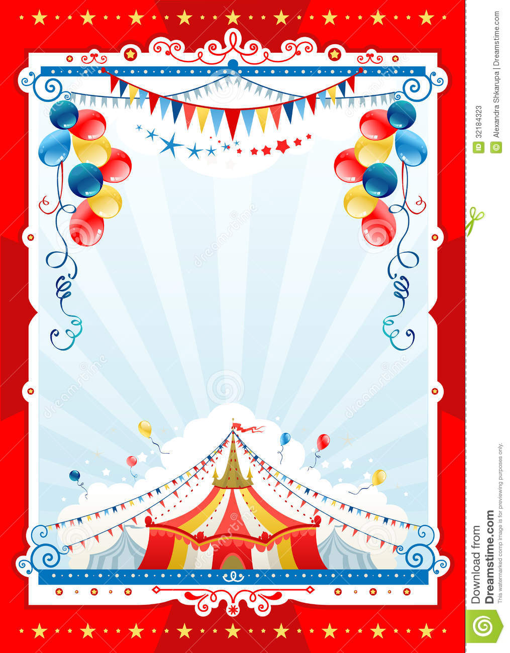 Circus Background Stock Photos Image 32184323