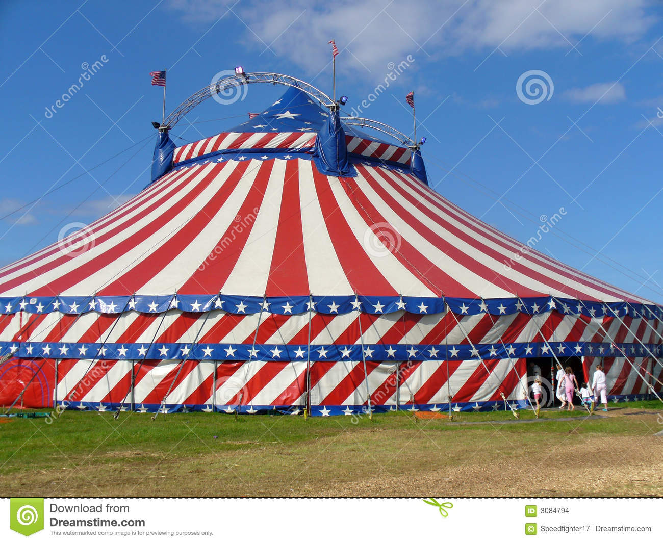 Circus Big Top Tent. Entertainment marquee. & Circus Big Top Tent stock photo. Image of tent entertainment ...