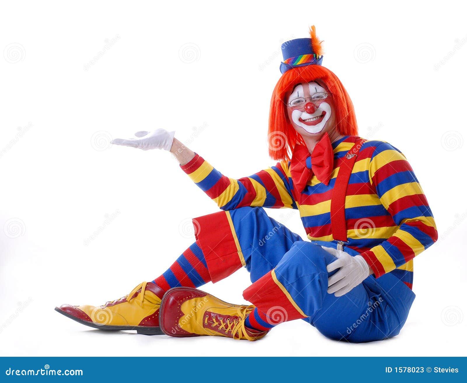 Circus Clown Stock Image Image Of Parties Birthday