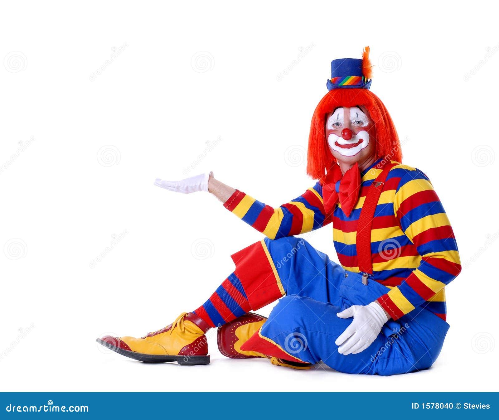 Circus Clown Stock Photo Image 1578040