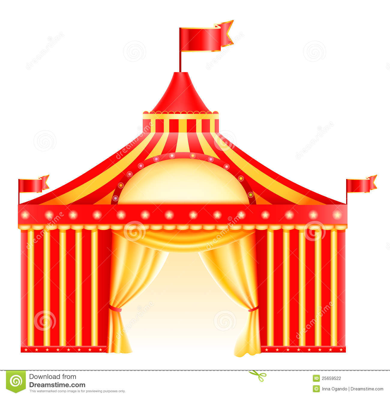 Circus icon  sc 1 st  Dreamstime.com & Circus icon stock vector. Illustration of marquee gold - 25659522