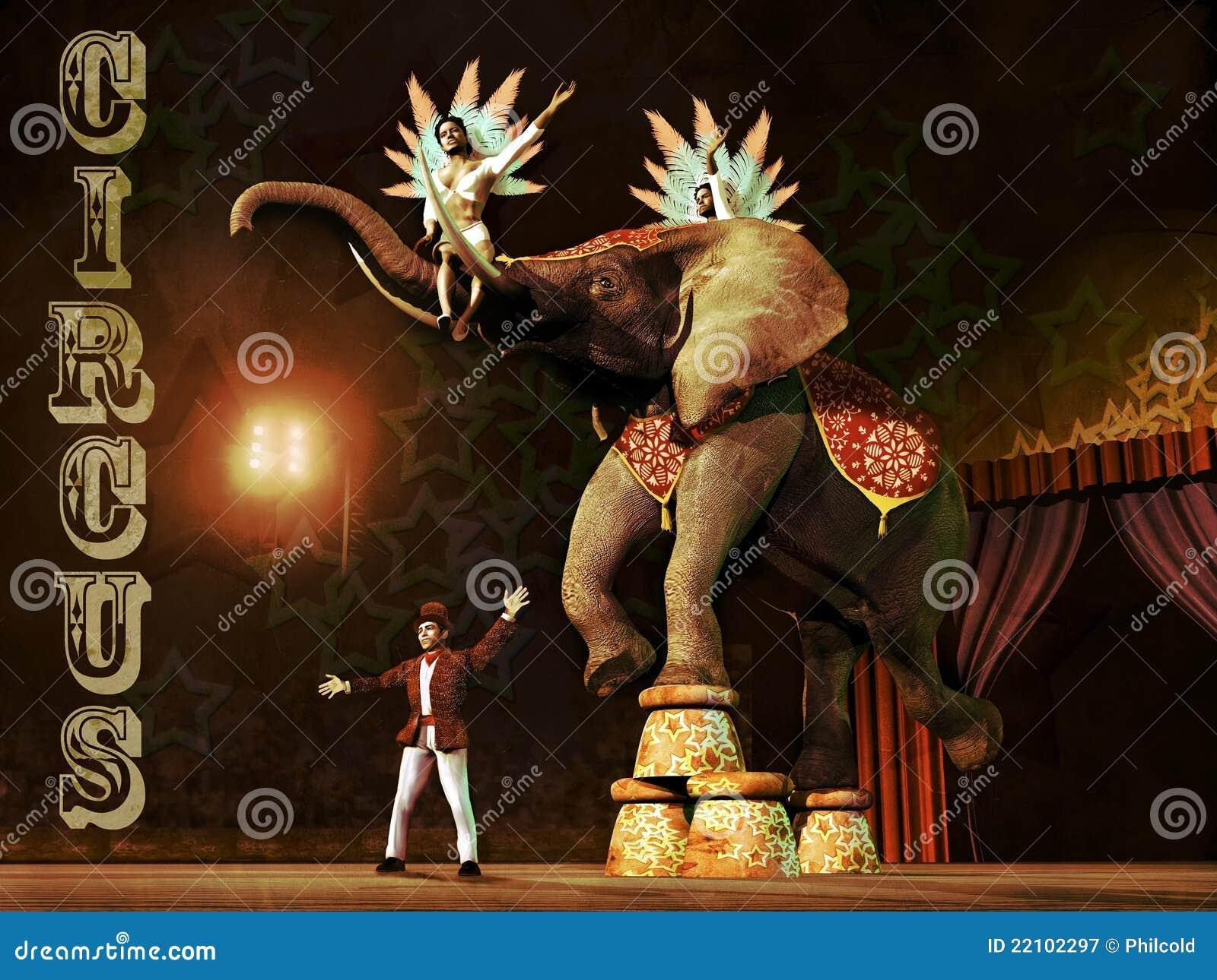 Circus scene