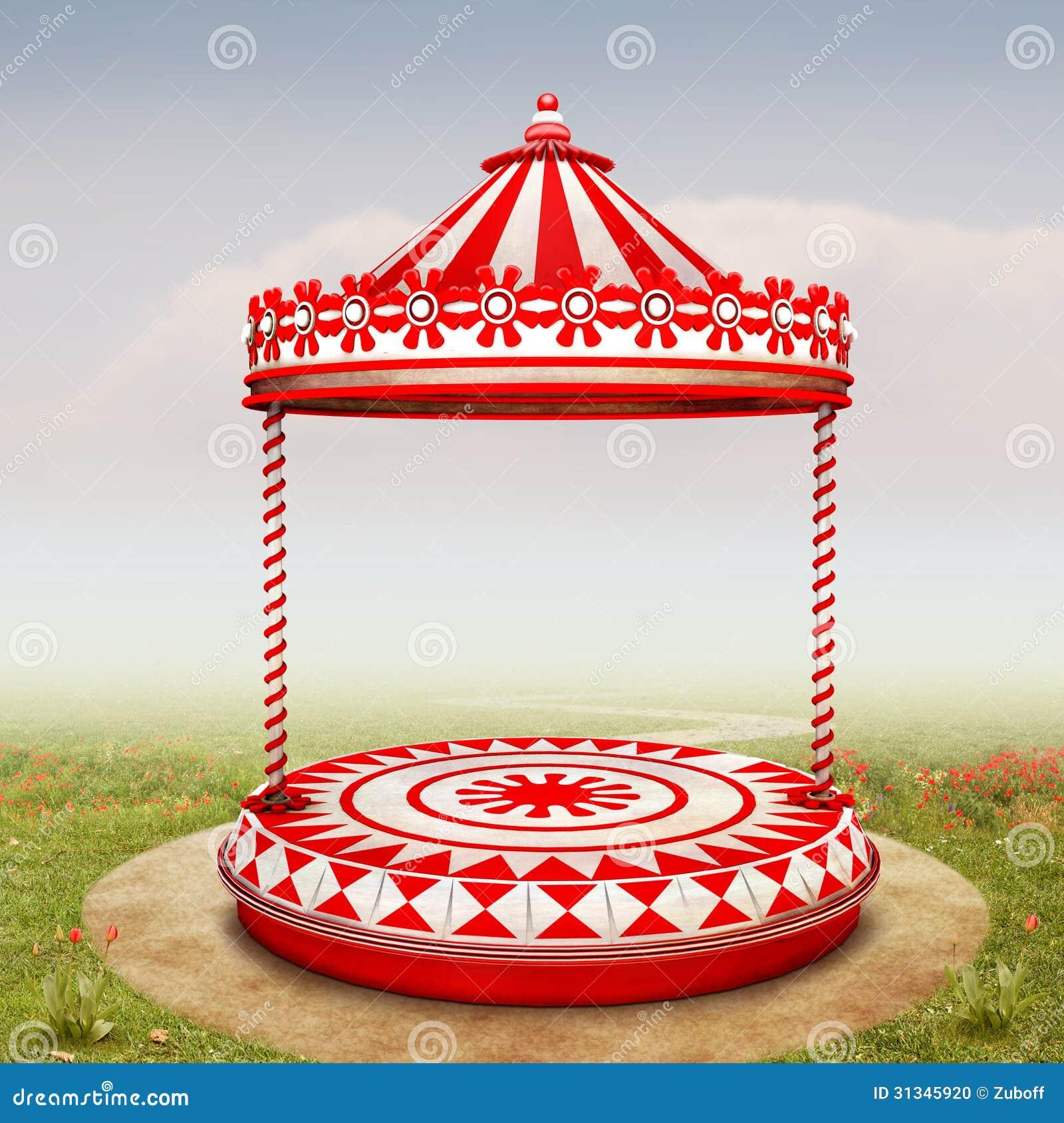 Circus Stage Backgroun...