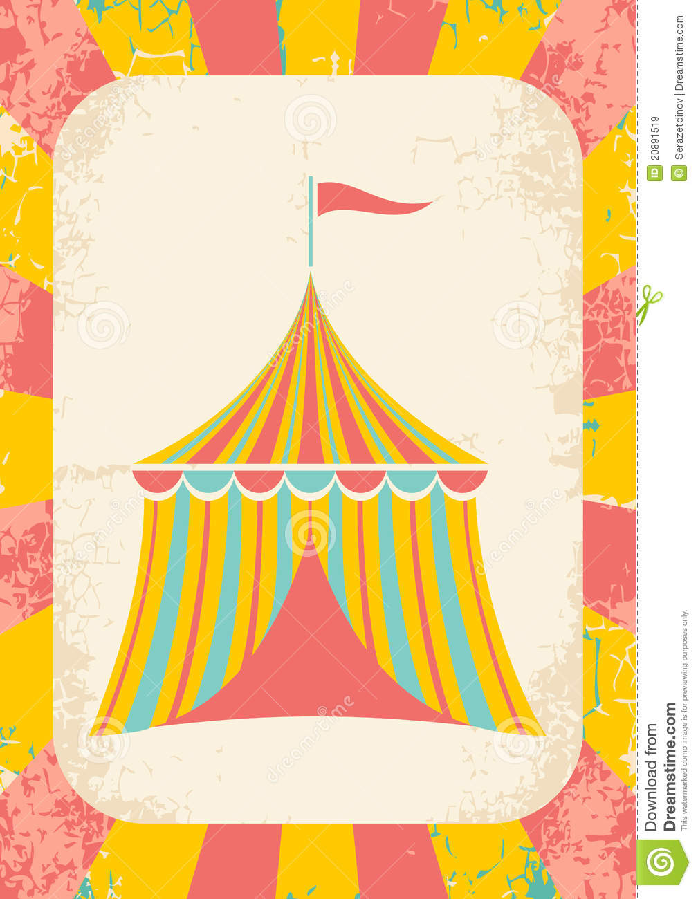 Circus tent  sc 1 st  Dreamstime.com & Circus tent stock vector. Image of pattern dirty arena - 20891519