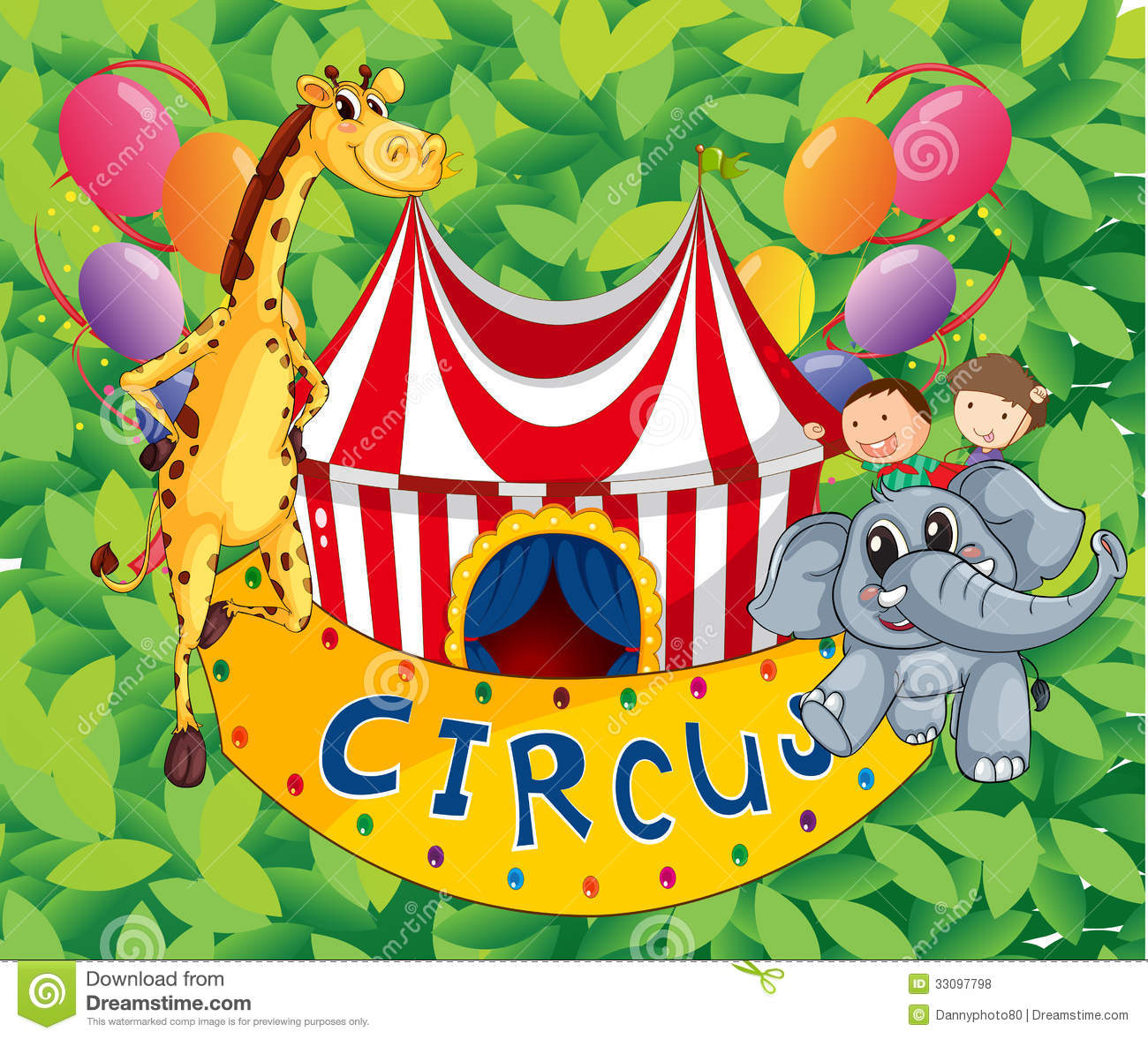 Uncategorized Circus Images For Kids a circus tent with animals and kids royalty free stock photos photo