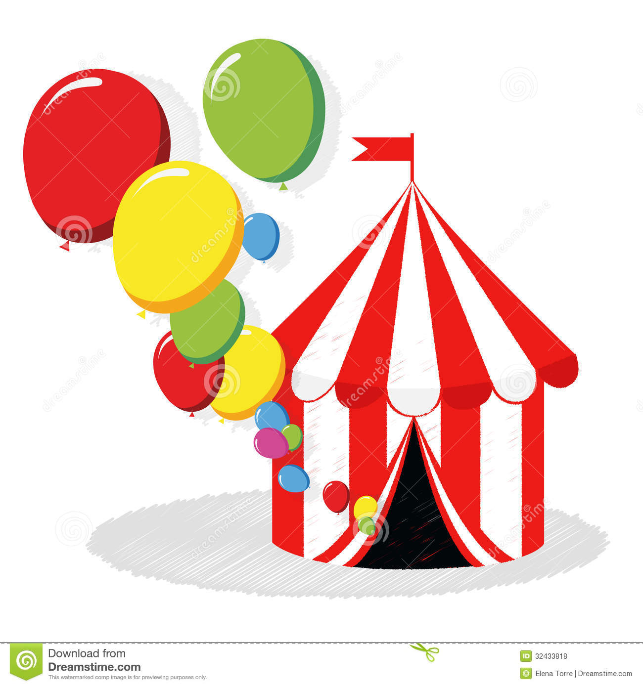 Circus tent and balloons vector Royalty Free Stock Photos  sc 1 st  Dreamstime.com & Circus Fair Carnival Tent/eps Stock Vector - Illustration of ...
