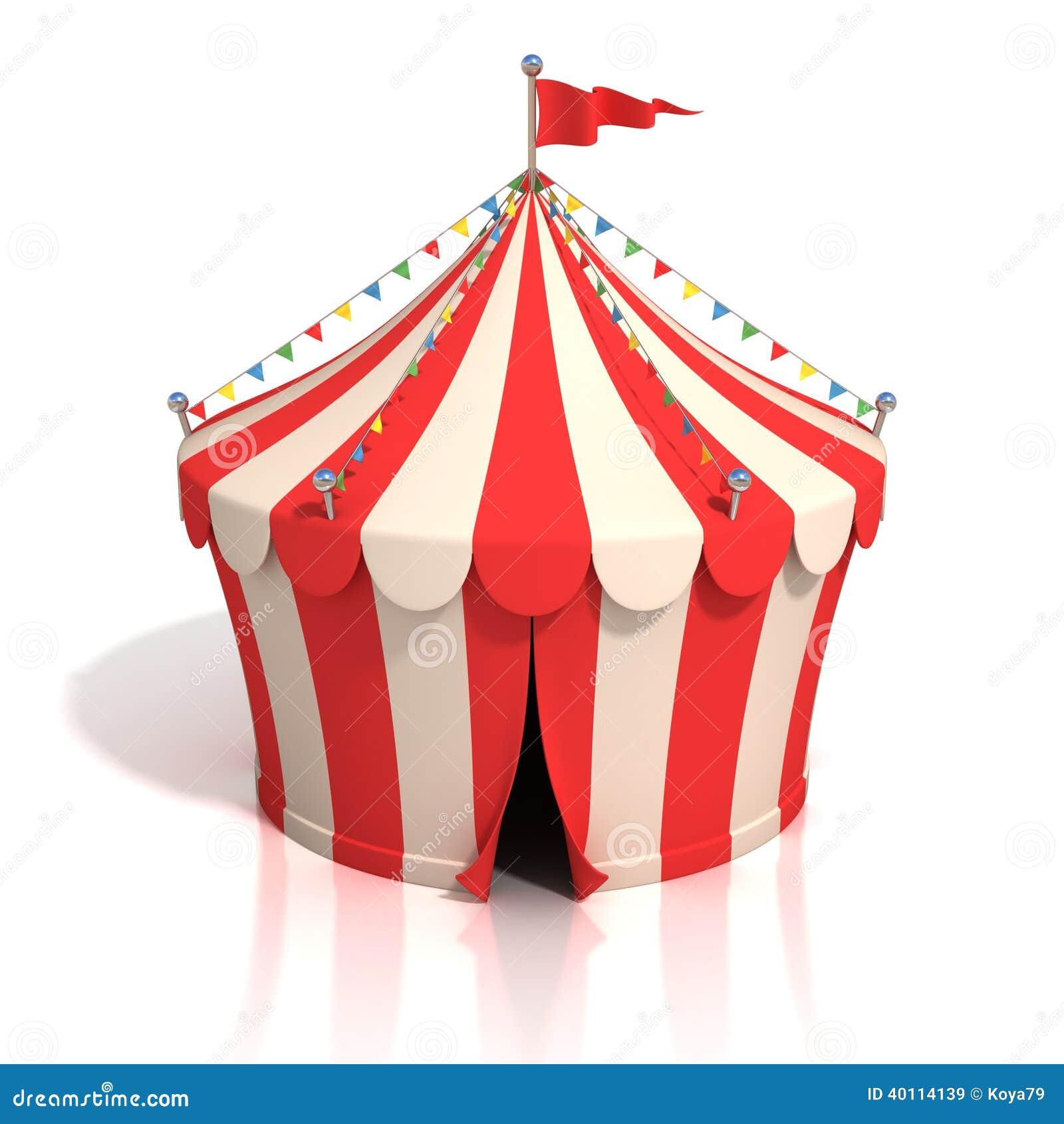 Circus Tent 3d Illustr...