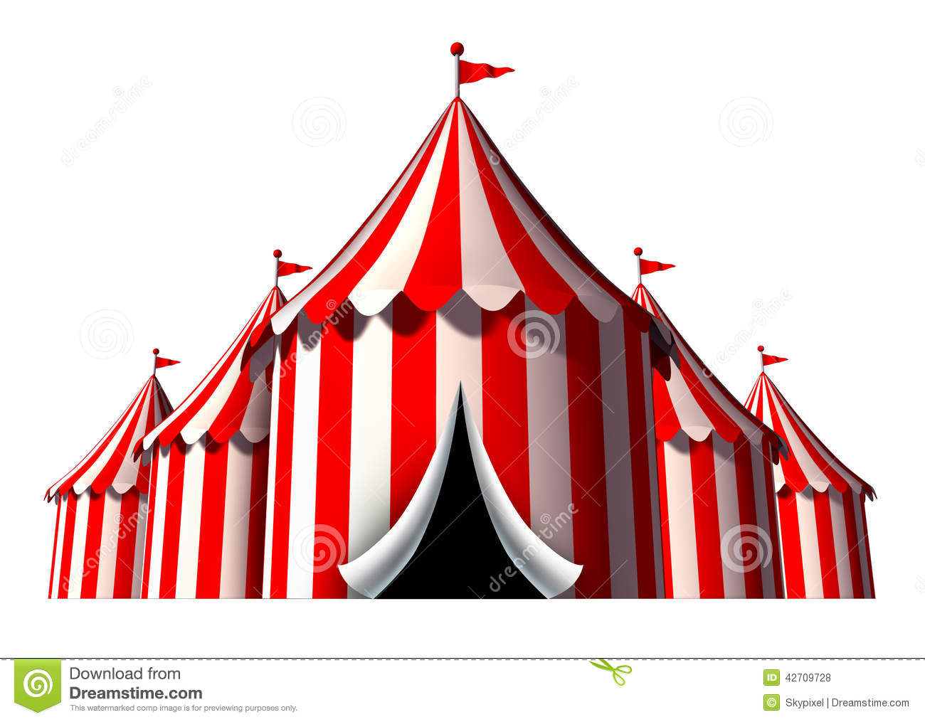 Circus Tent  sc 1 st  Dreamstime.com & Circus Tent stock illustration. Illustration of open - 42709728
