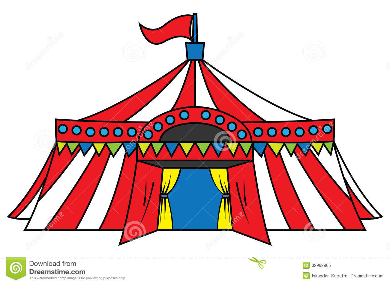 Circus Tent Royalty Free Stock Photo - Image: 32962865