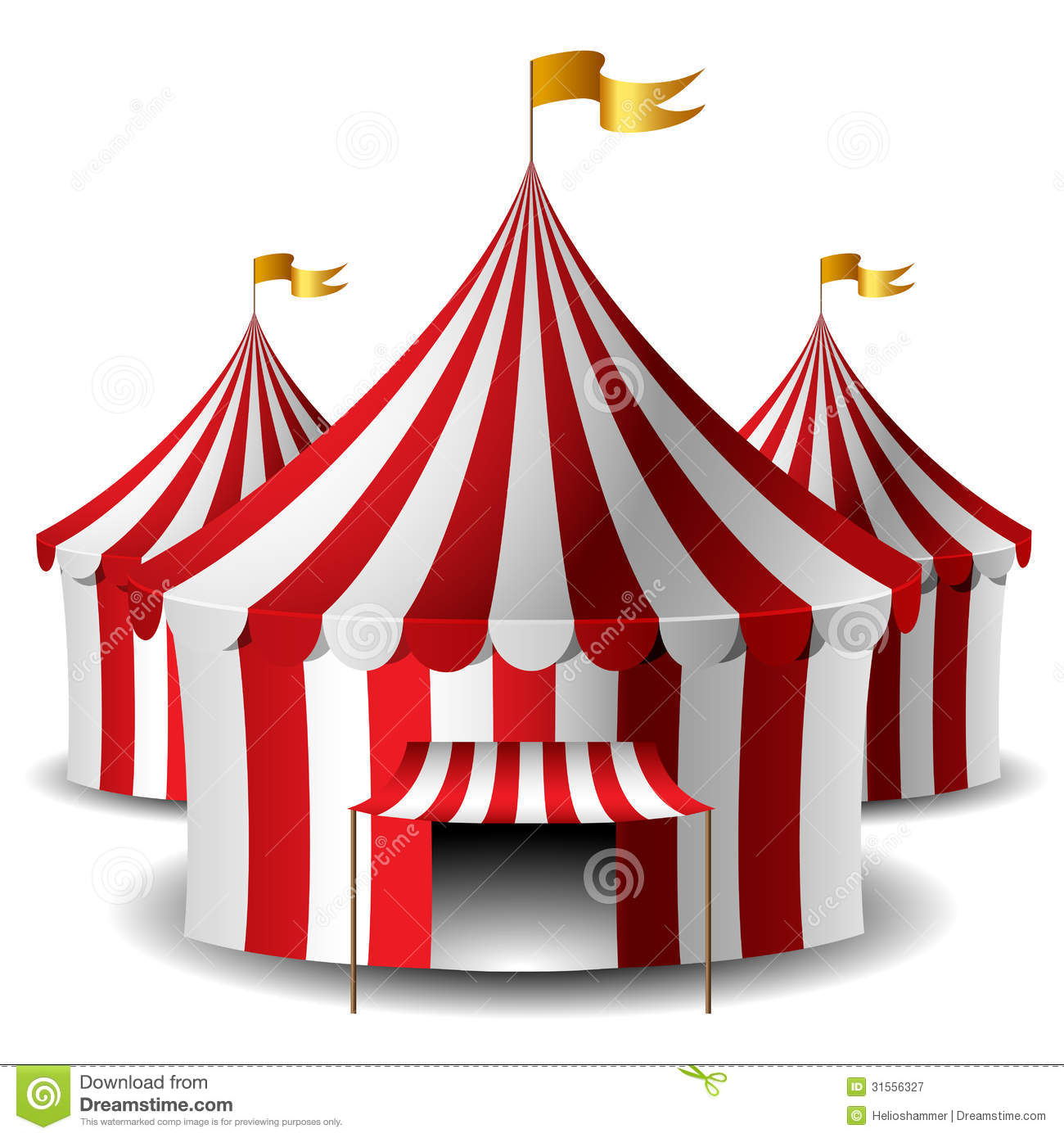 Circus tent  sc 1 st  Dreamstime.com & Circus tent stock vector. Illustration of object celebration ...