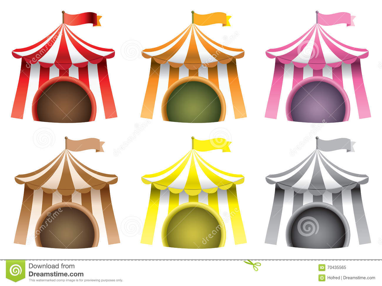 how to make a carnival tent