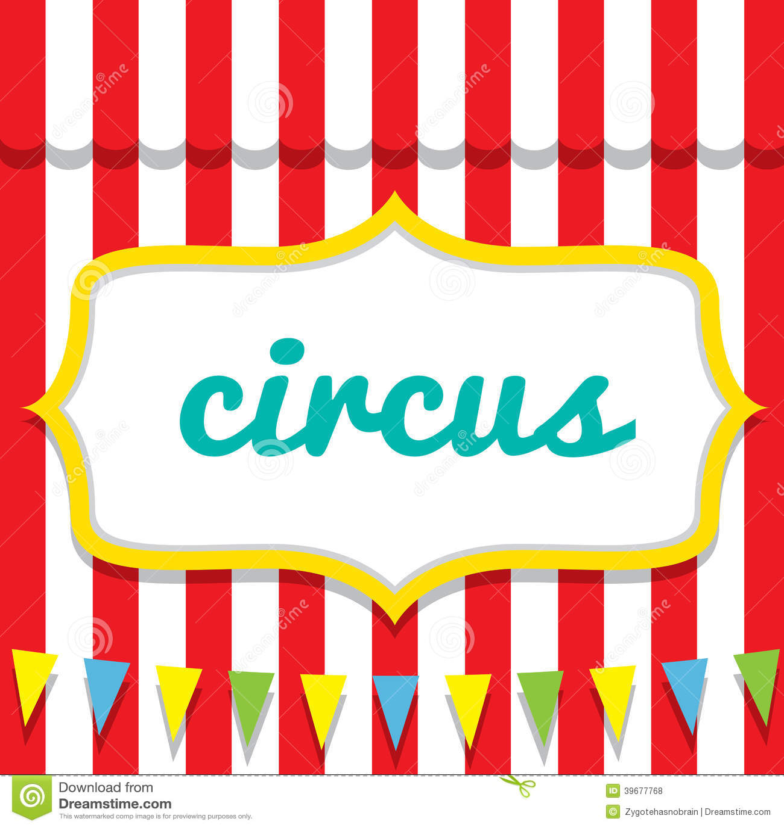 Circus Vector Illustration Stock Vector - Image: 39677768