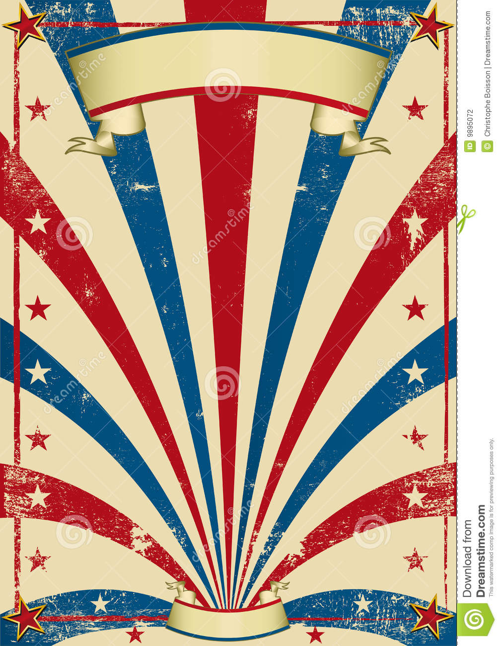 Circus Vintage Poster Stock Photography Image 9895072