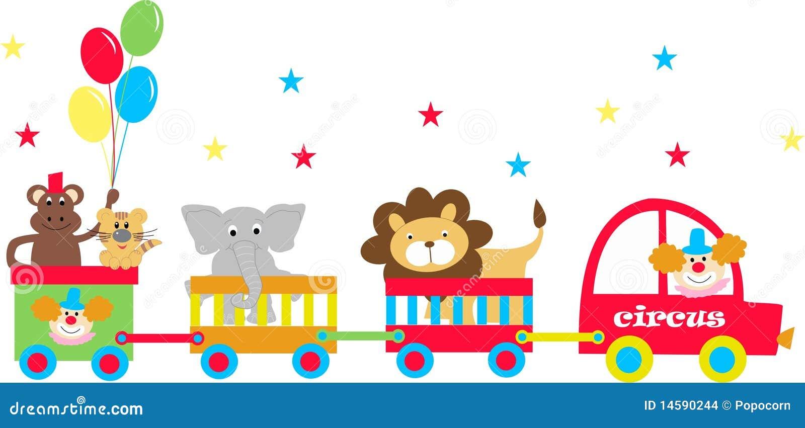 Circus wagens
