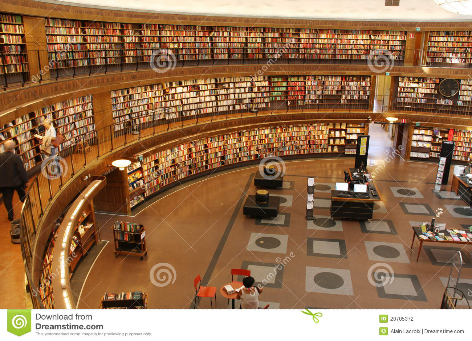Cirkel bibliotheek