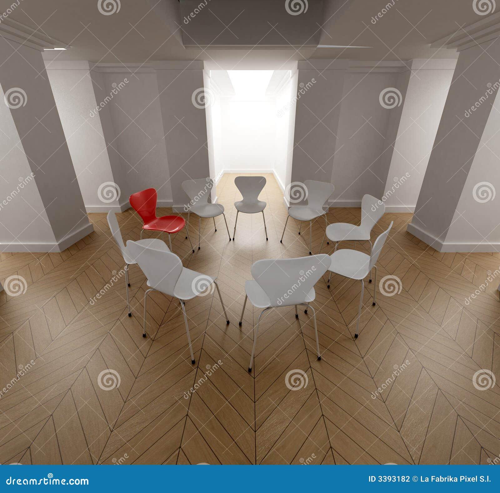 Cirkel van stoelen
