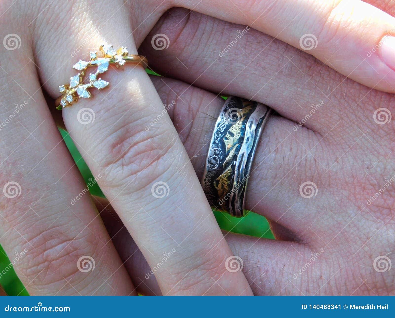 Cirklar av nyligen gifta sig