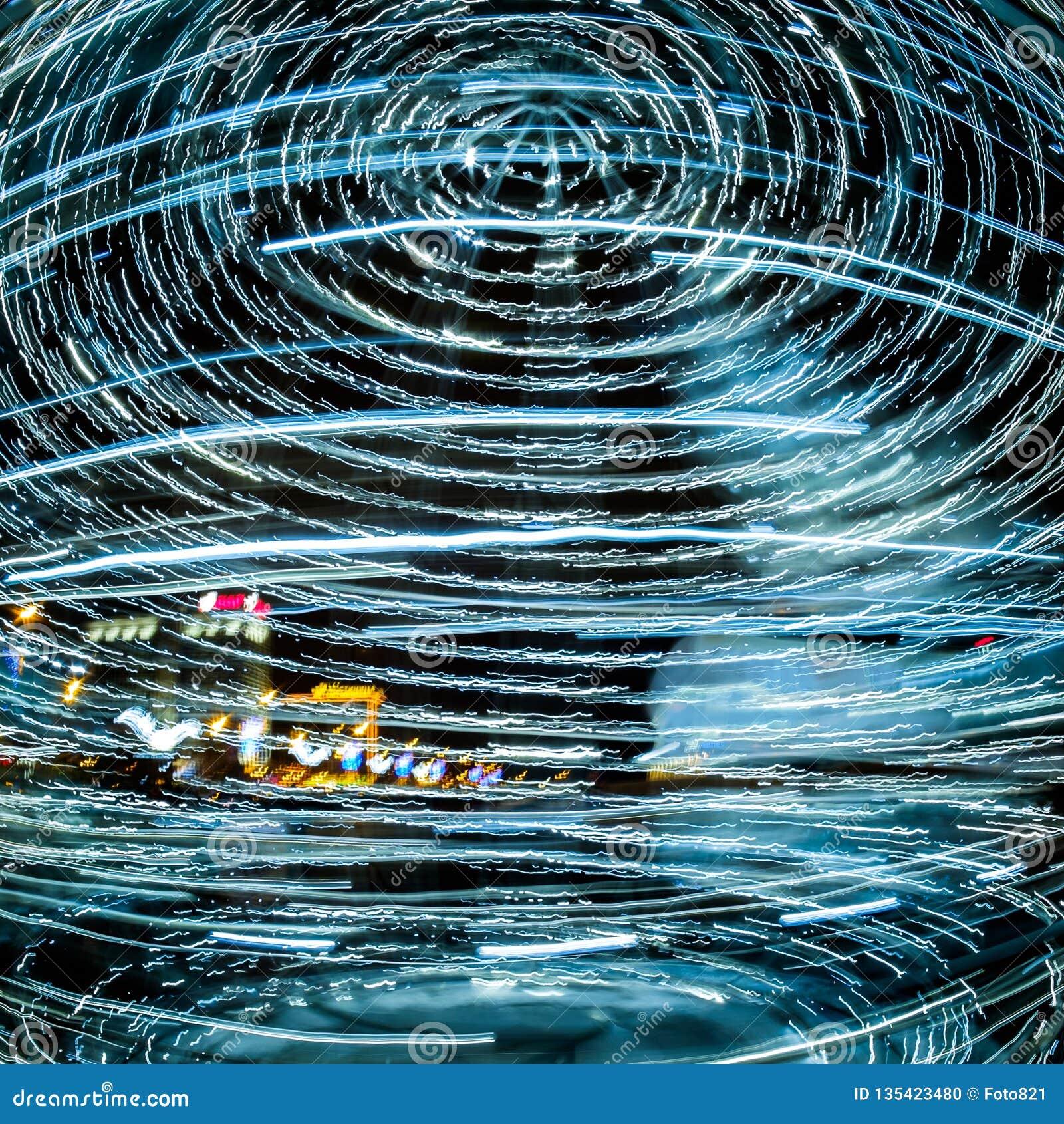 Cirkulering för nytt år av händelser