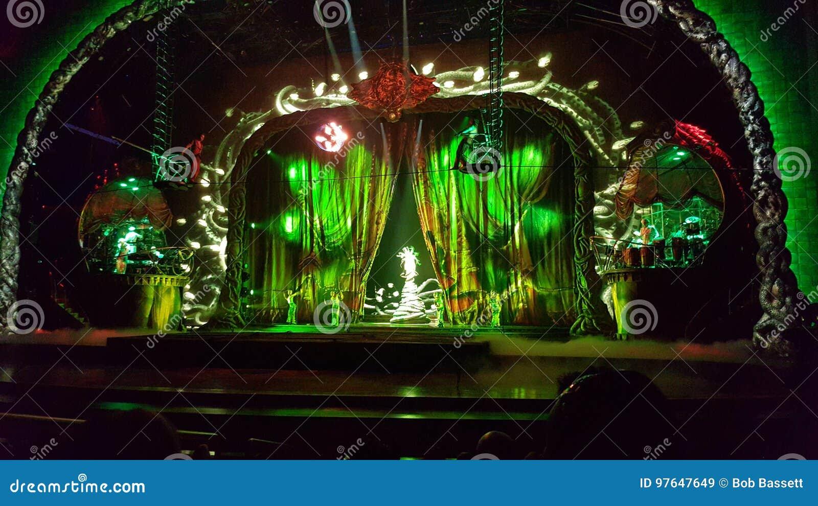 Cirque du Soleil`s Zarkana