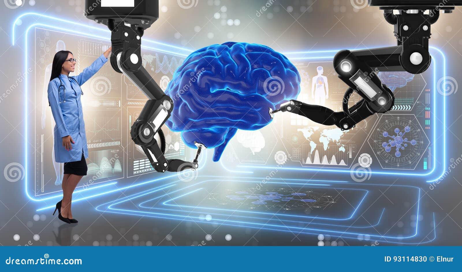 A cirurgia de cérebro feita pelo braço robótico