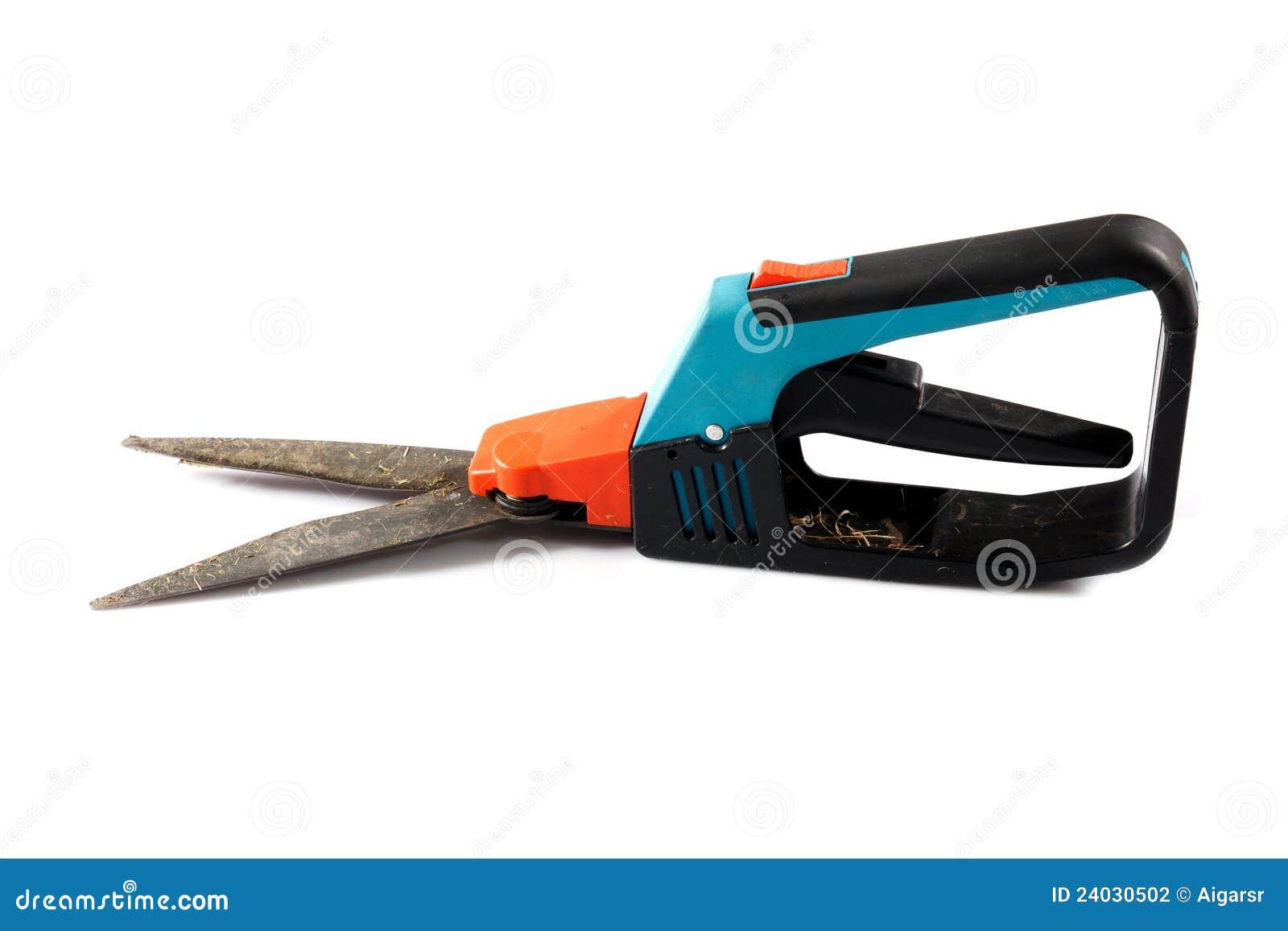Ciseaux de jardinage photographie stock image 24030502 for Jardinier professionnel