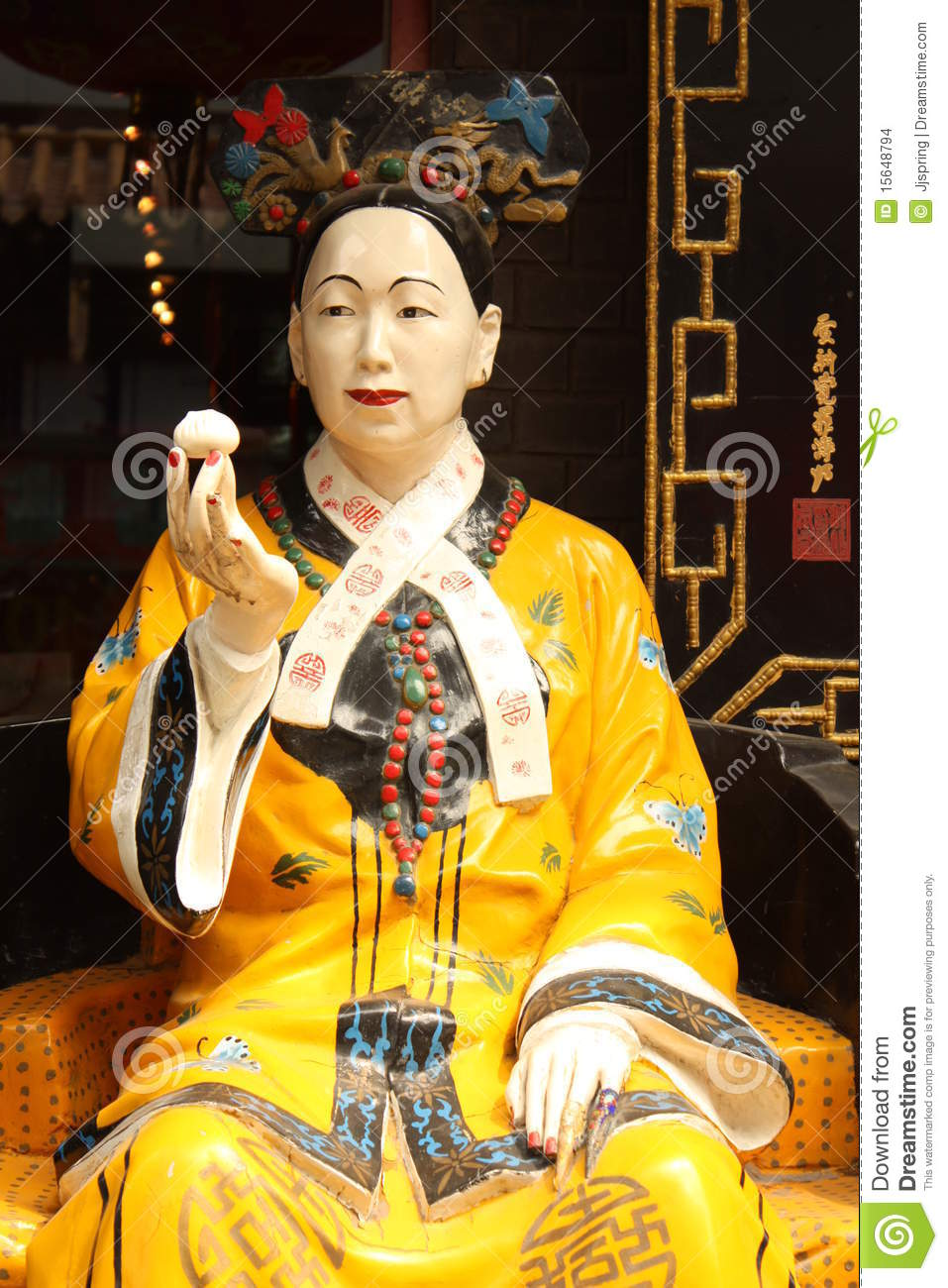 Cisi Woman Emperor Of China Stock Images Image 15648794