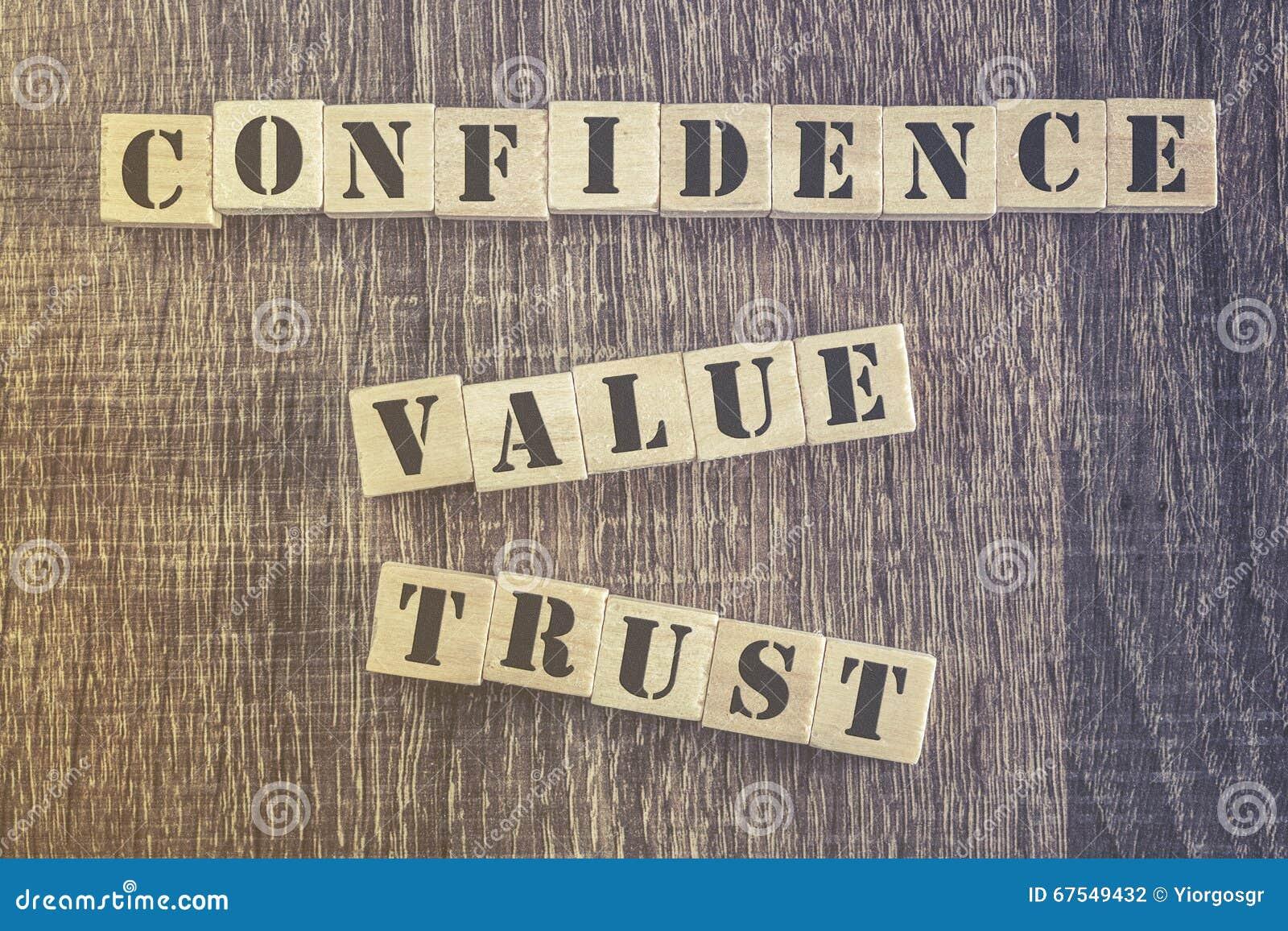 Citações da confiança do valor da confiança