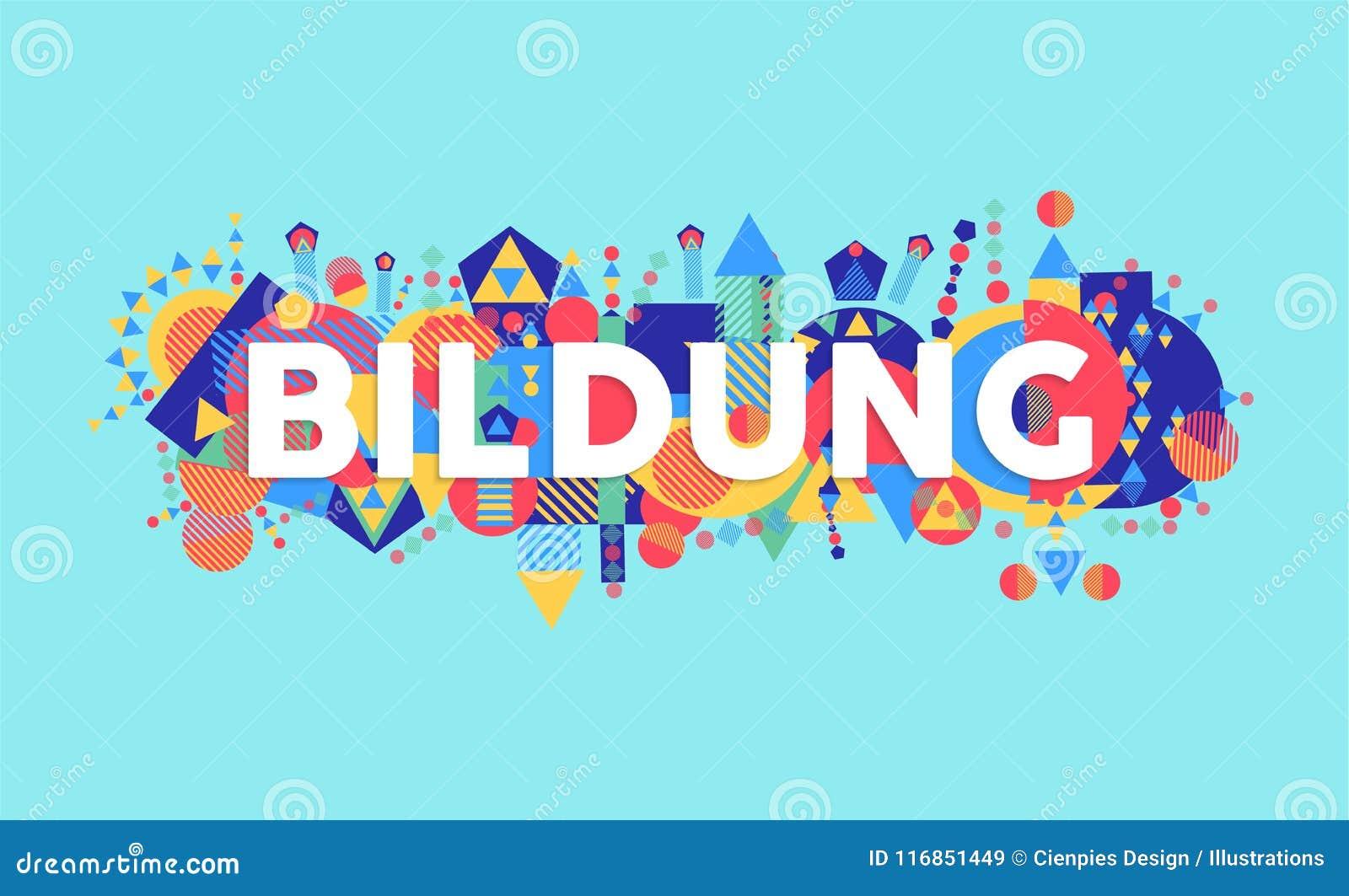 Cita de la escuela de la educación en lengua alemana