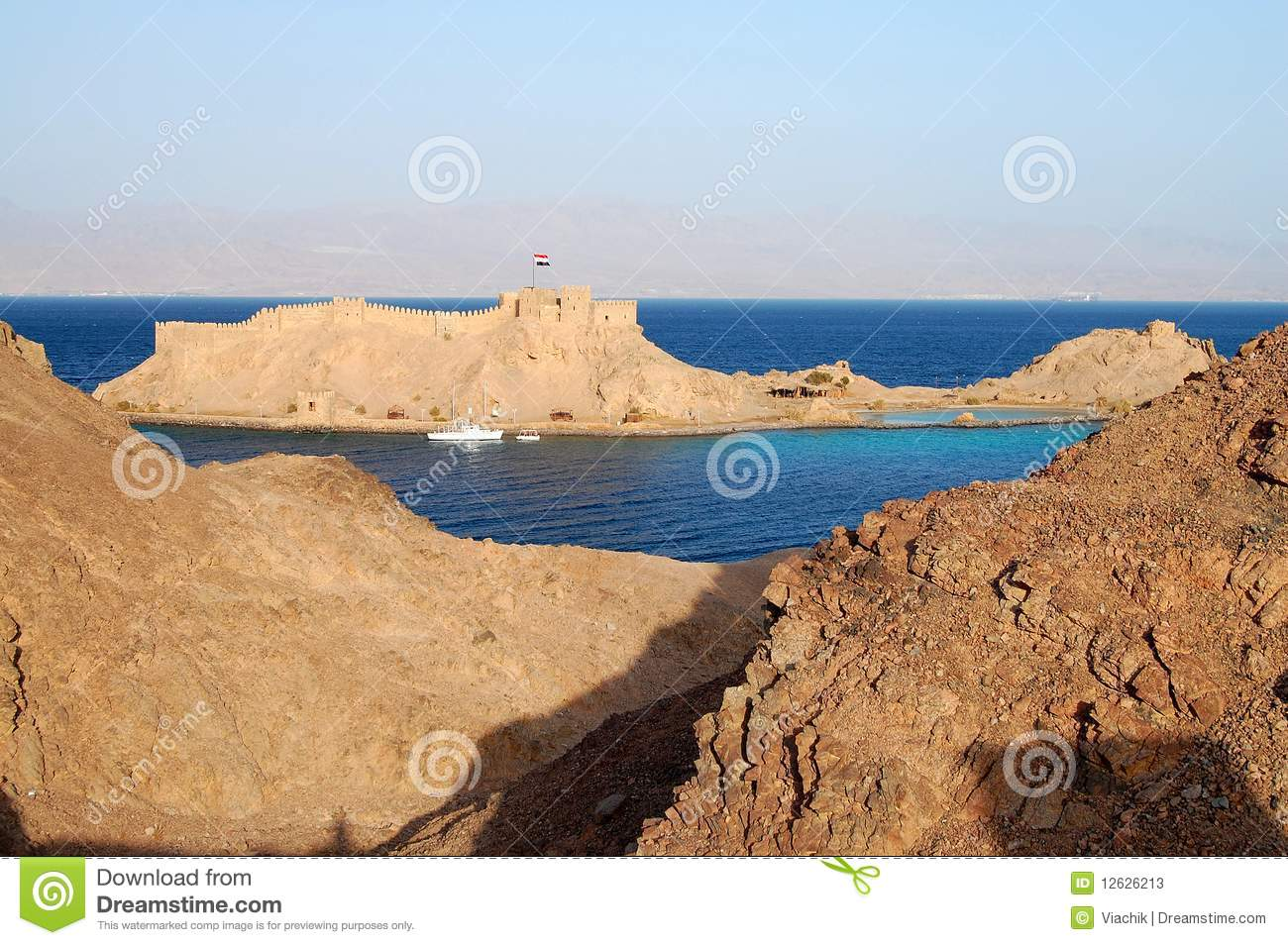 Citadel Of Saladin Stock Photos Image 12626213