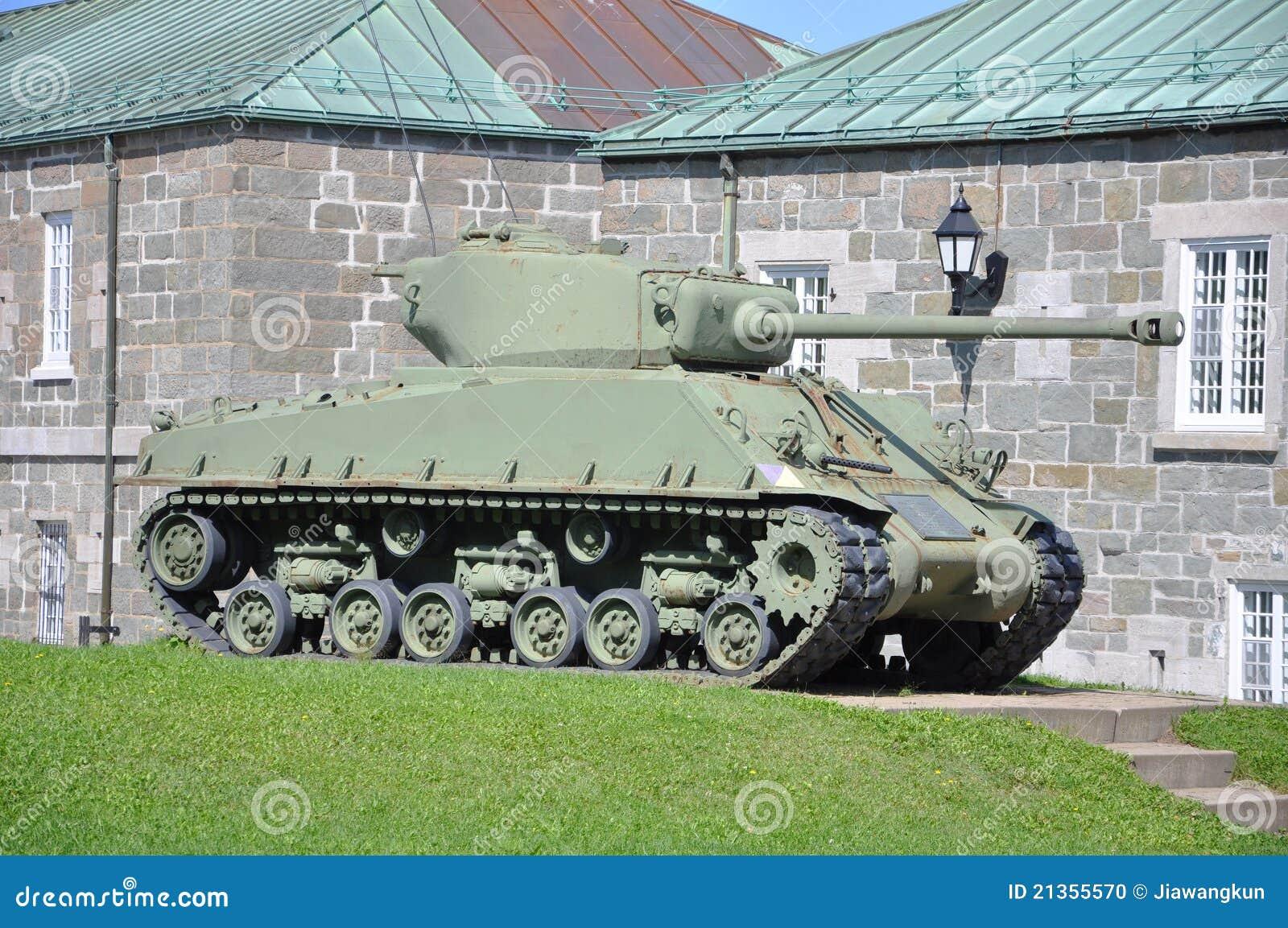 Citadelle De M4 Quebec Sherman zbiornik
