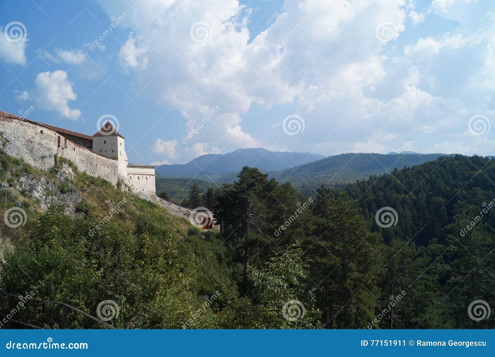 Citadelle de Rasnov, Roumanie