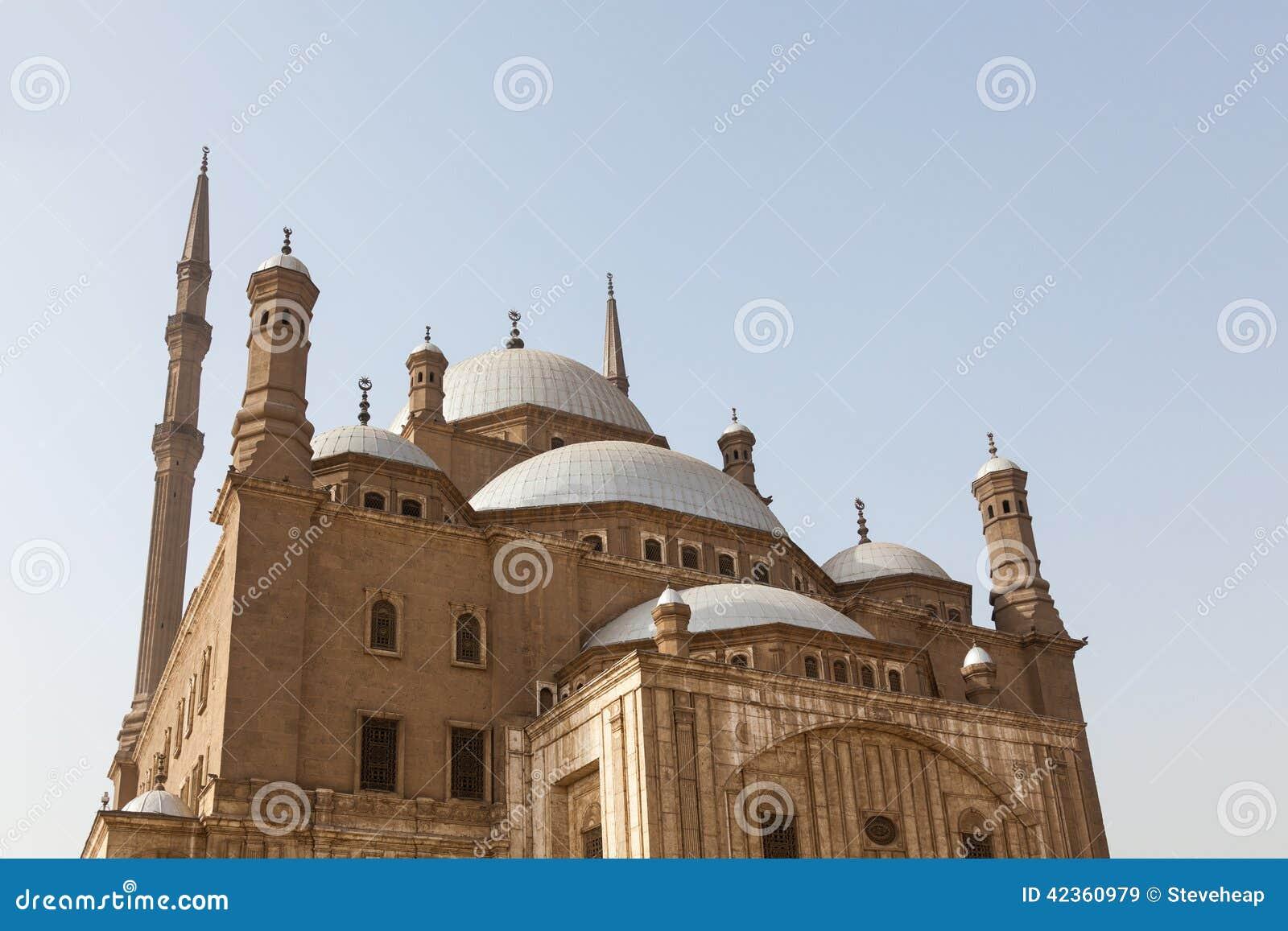 Citadelle le Caire Egypte de mosquée d albâtre