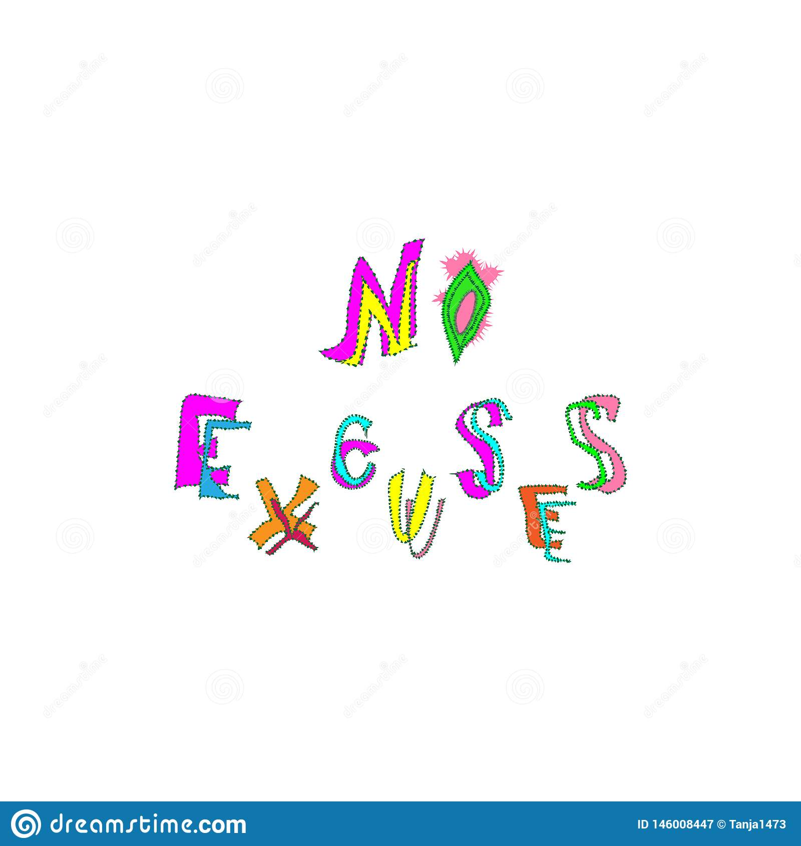 Citas Inspiradas Y De Motivación Ningunas Excusas Frase