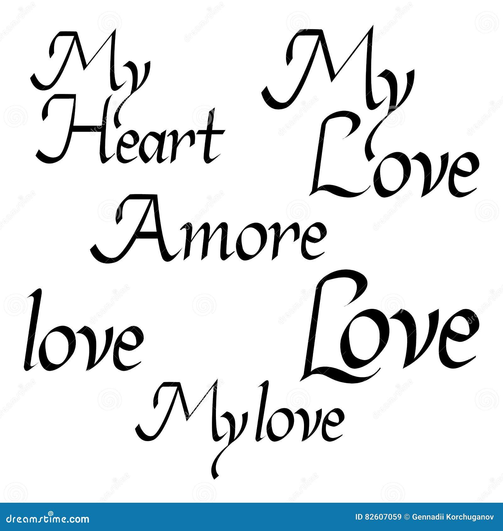 Citaten Valentine Die Liefdeinzameling Van Letters Voorzien