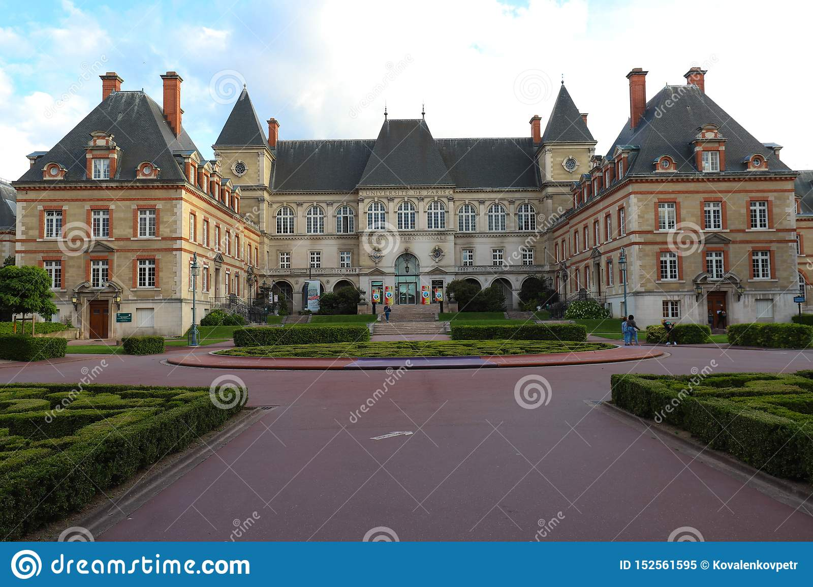 Cite Internationale Universitaire De Paris Is A Private Park And Foundation Located In Paris France Editorial Image Image Of Housing Exterior 152561595