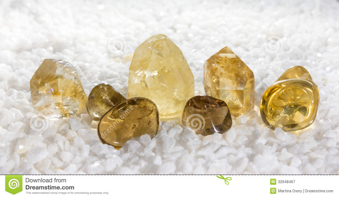 citrine or the of success royalty free stock