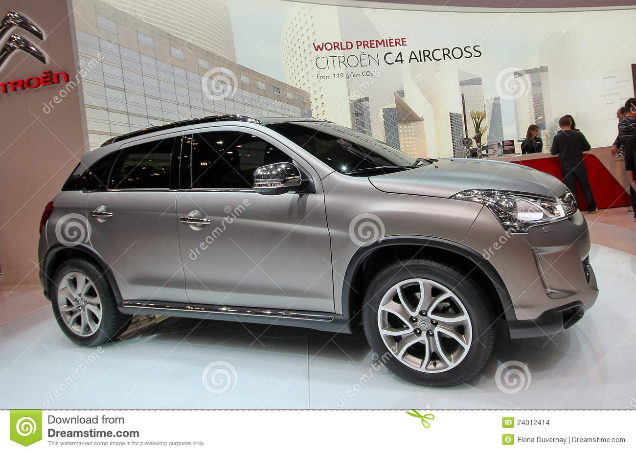 Citroen C4 Aircross Editorial Stock Image Image 24012414