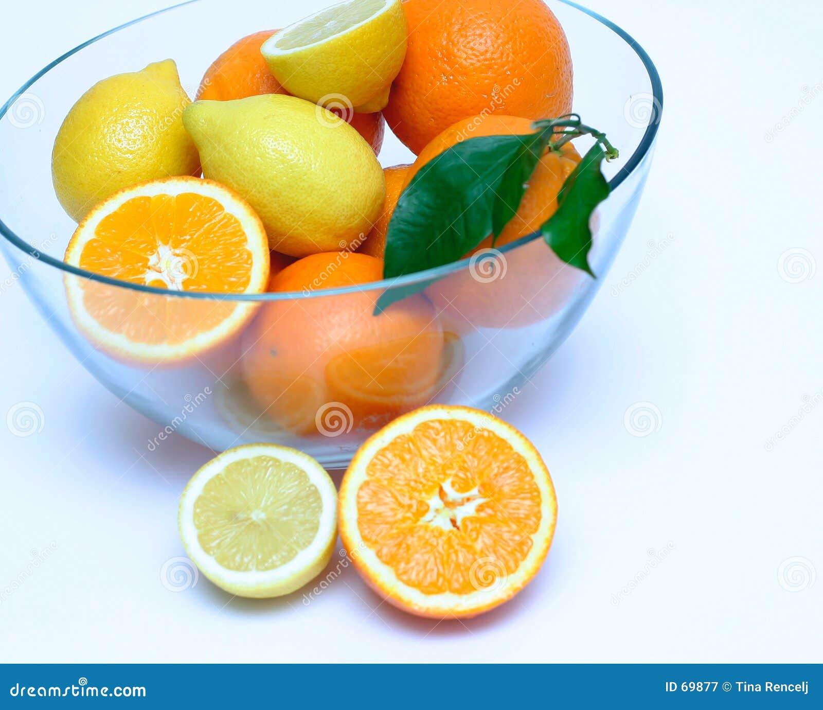 Citroenen en Sinaasappelen