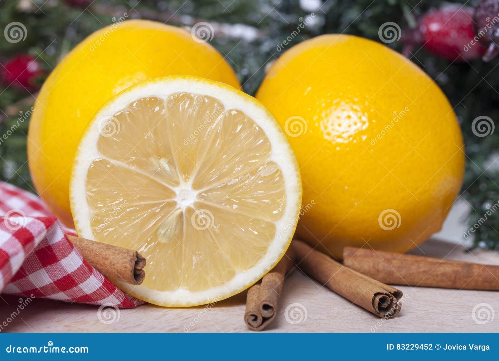 Citron et cannelle