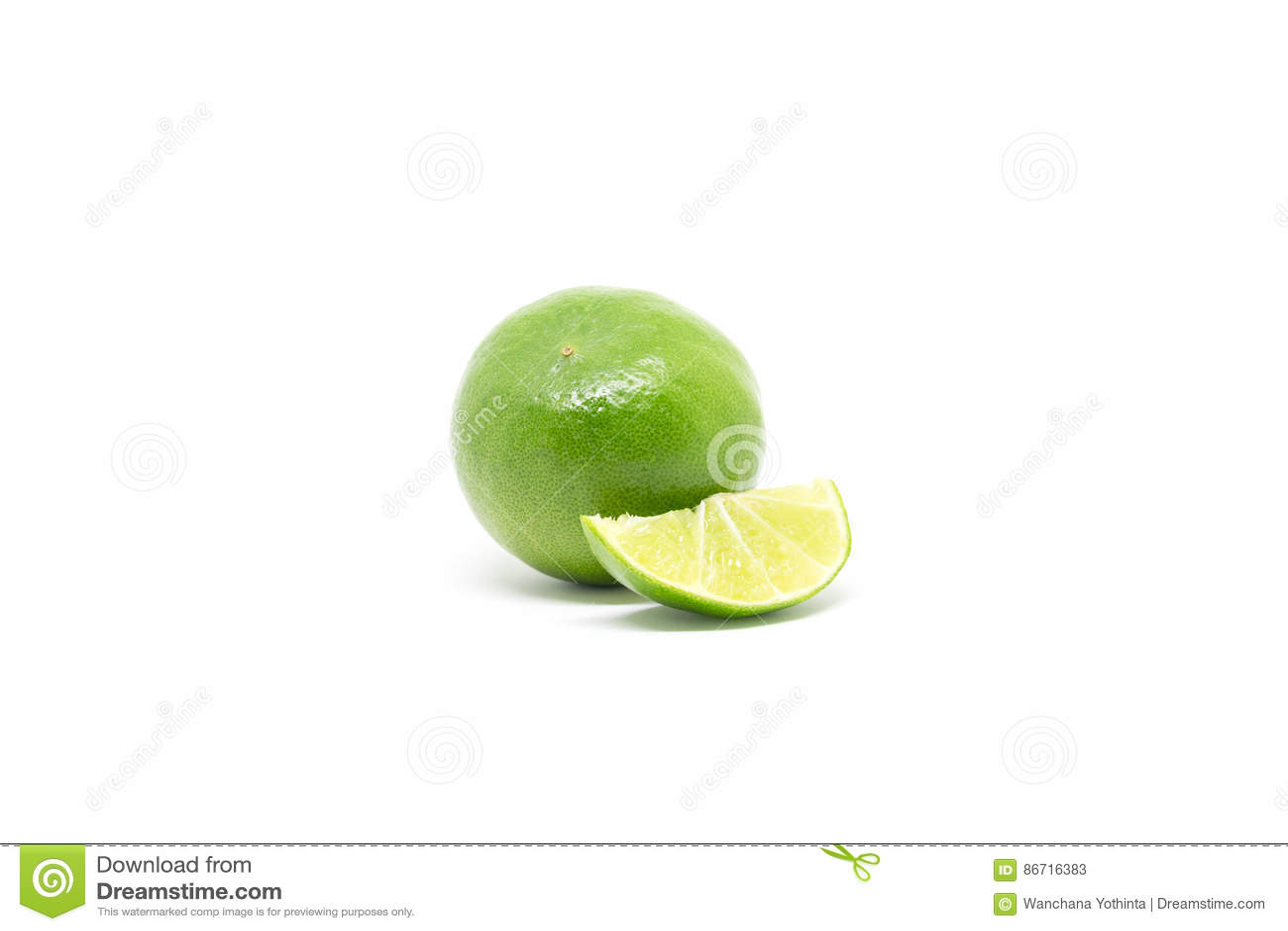 Citron grön citronlimefrukt