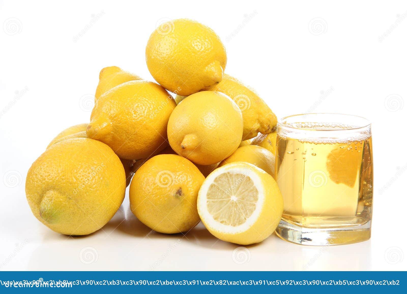 Citron i exponeringsglas