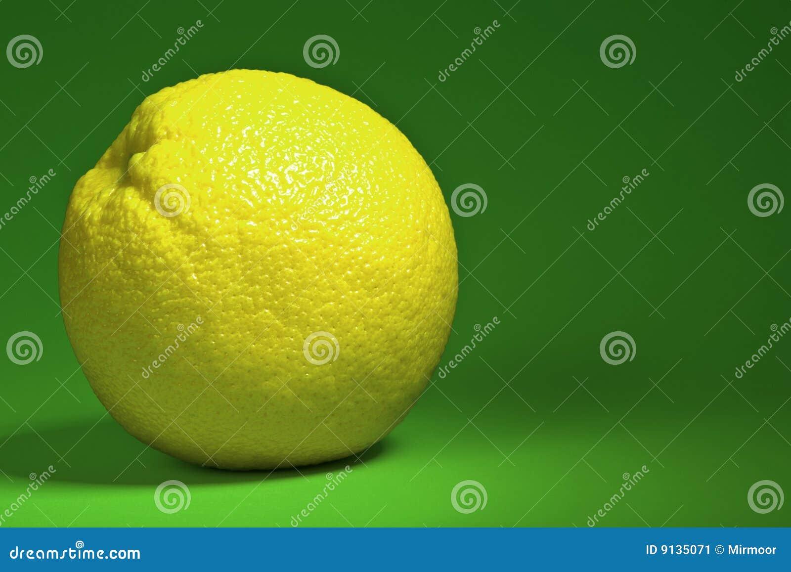 Citron juteux.