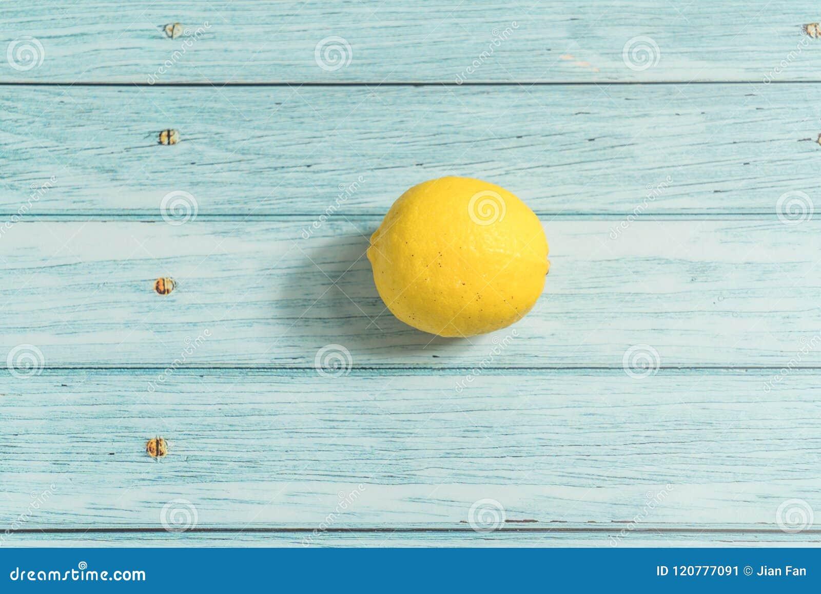 Citron och cyan wood bakgrund