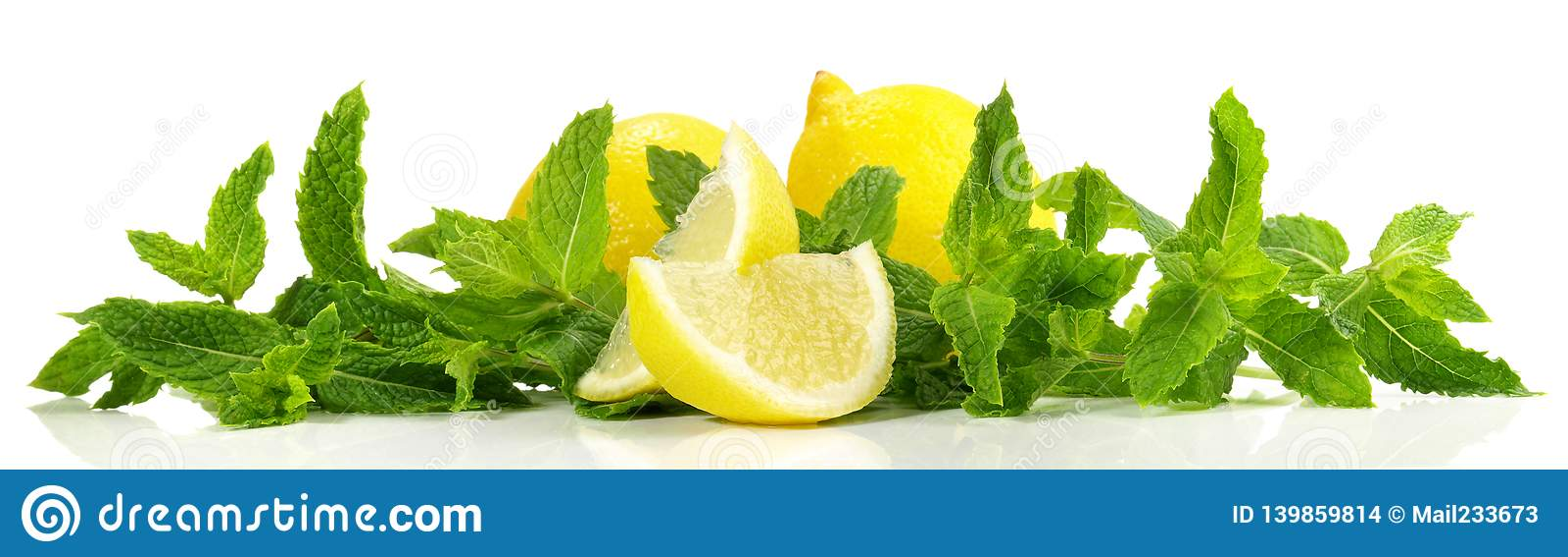 Citron- och mintkaramellpanorama