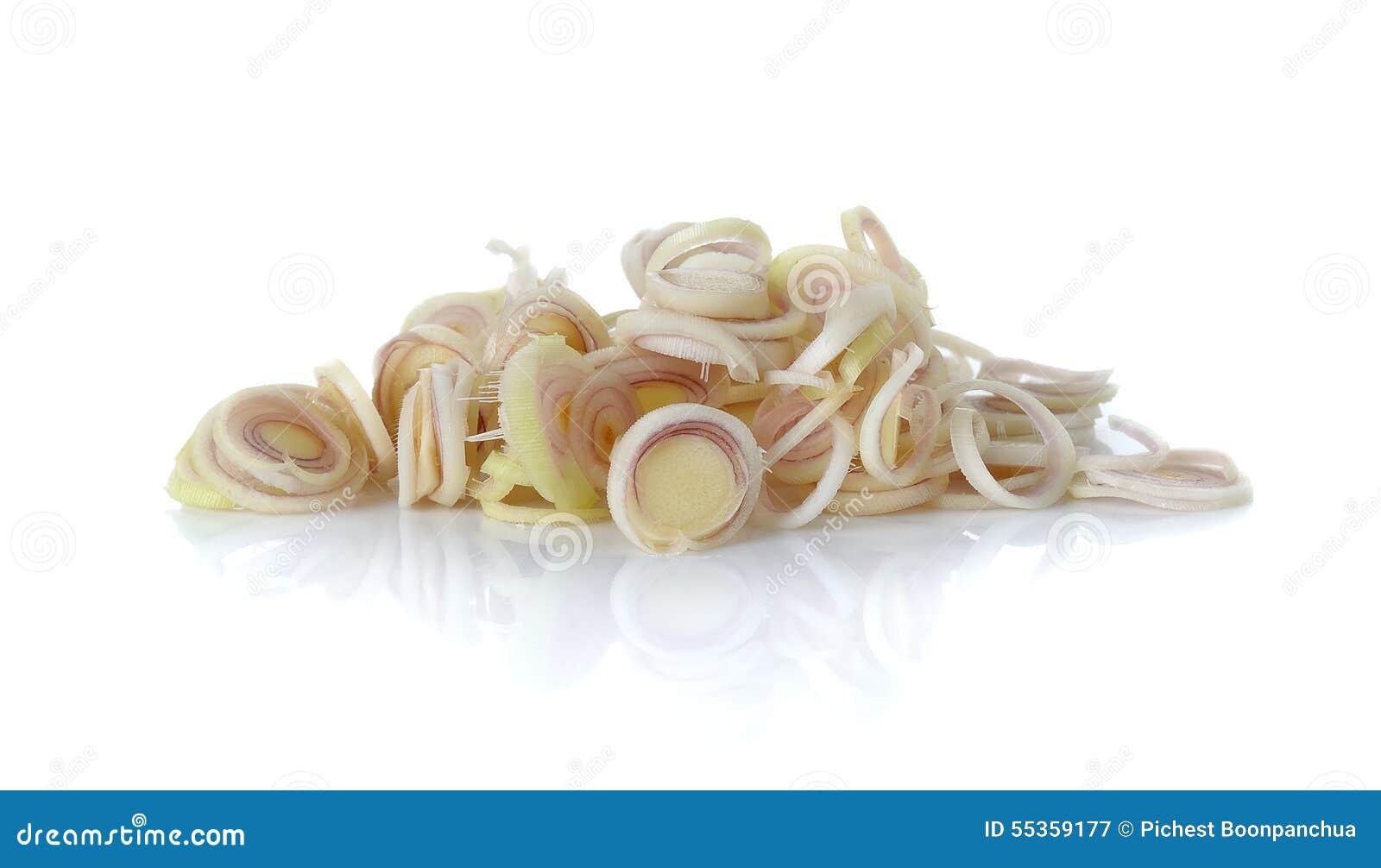 Citronella di Silce isolata sui precedenti bianchi