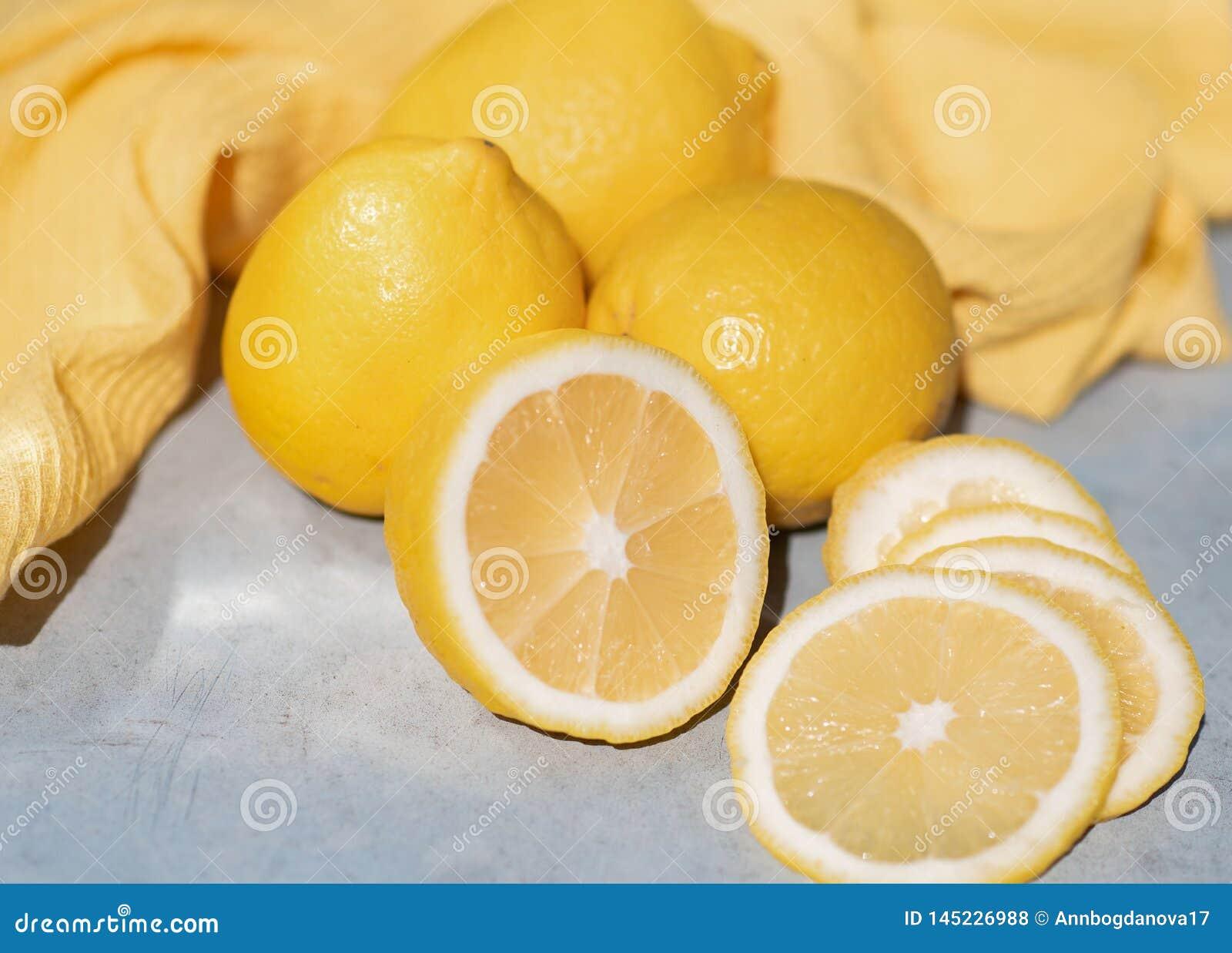 Citroner är på tabellen