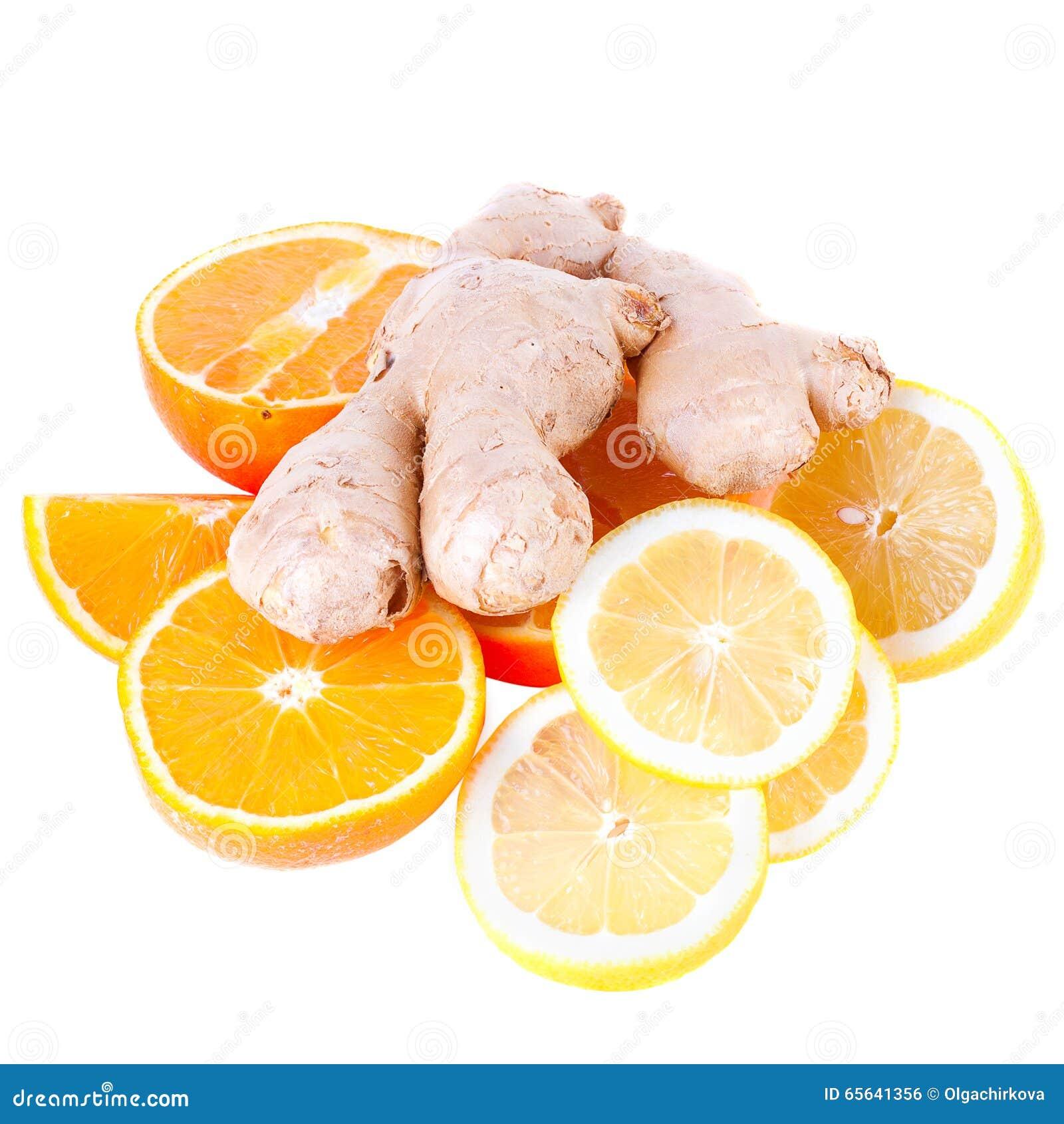 Citrons et gingembre
