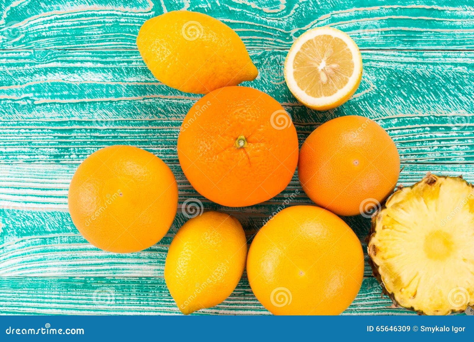 Citrons, oranges et limettes