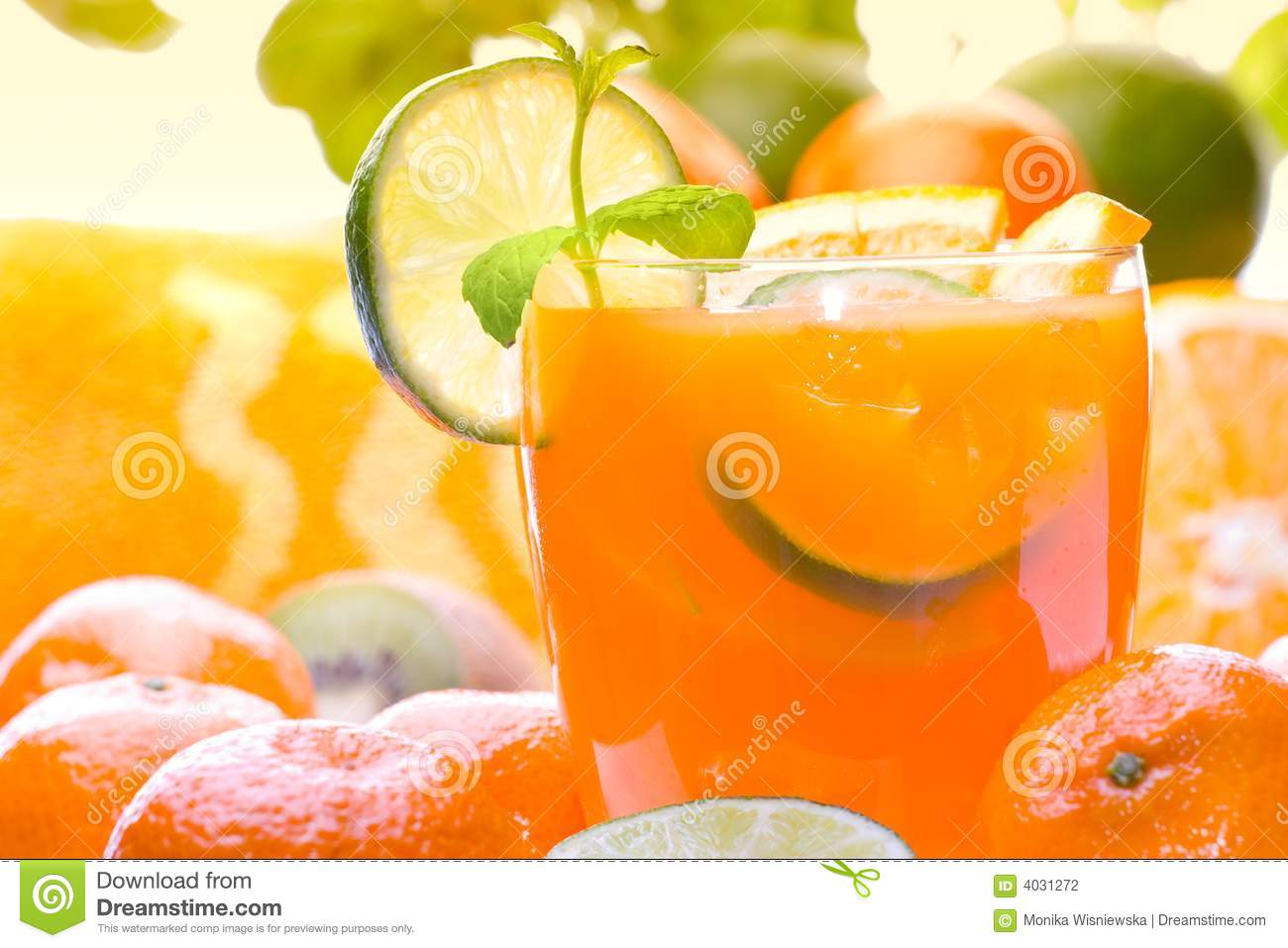 Citrus Drink Stock Photography - Image: 4031272