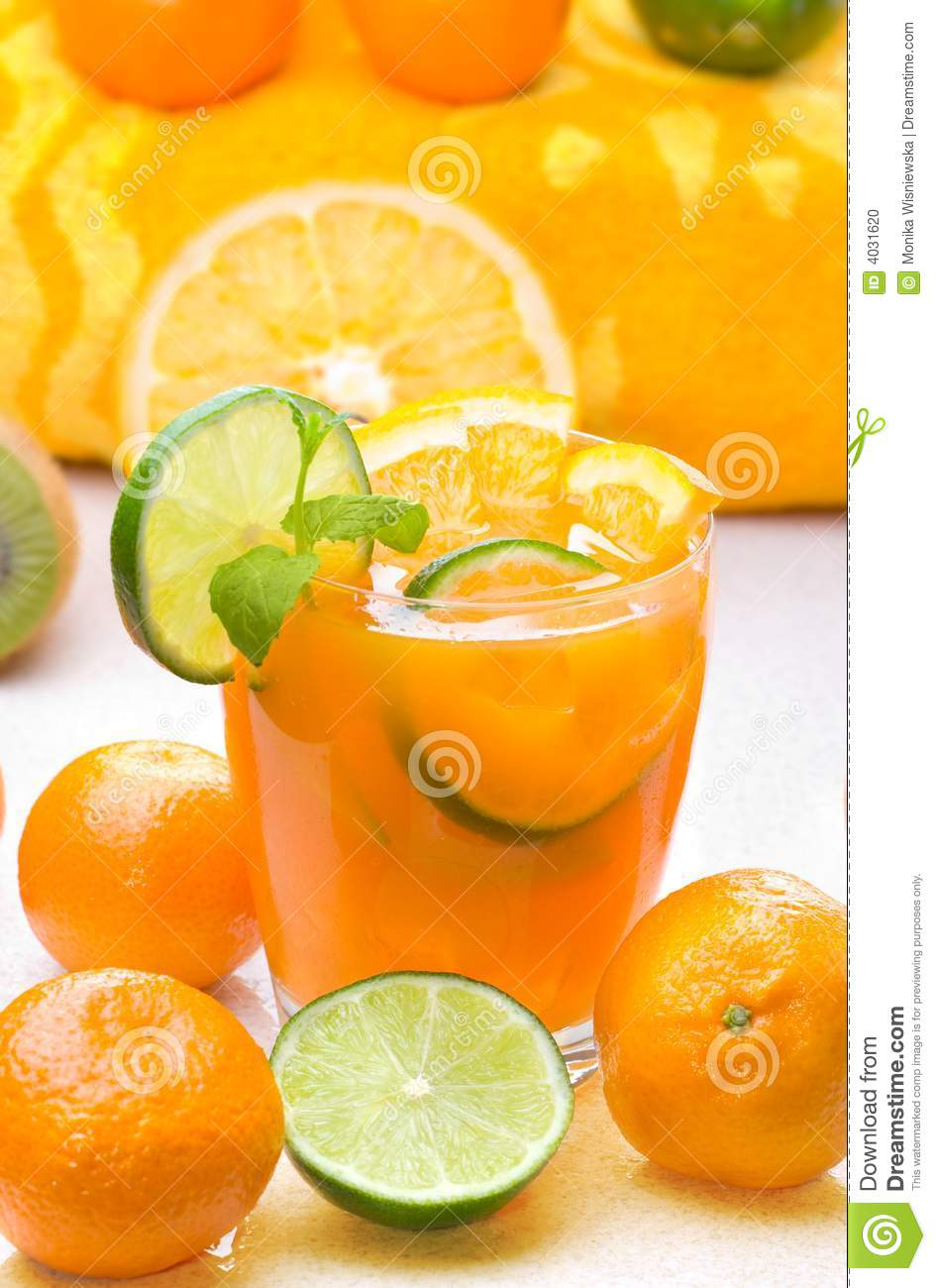 Citrus Drink Stock Photo - Image: 4031620